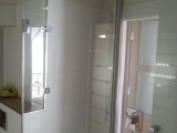 Dusch-Wannenbad hinteres Ferienhaus