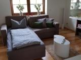 Einzelbett im Wohnbereich Vorderes Ferienhaus