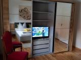 TV im Schlafzimmer Vorderes Ferienhaus