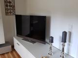 TV im Wohnbereich Vorderes Ferienhaus