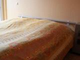 Doppelbett und Terassenzugang